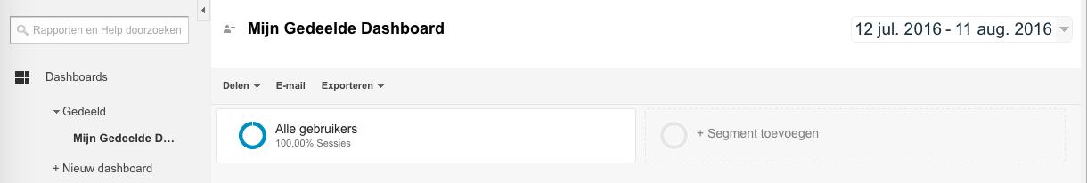 Persoon die een Gedeeld Dashboard niet kan Aanpassen (Geen Samenwerkingsrechten)